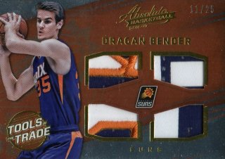 2016-17 PANINI Absolute Patch Rookie Materials Dragan Bender 【25枚限定】 / MINT池袋店 パズ・ライトイヤー様