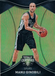 2016-17 PANINI TOTALLY CERTIFIED Gold Manu Ginobili 【10枚限定】 / MINT新宿店 トリバー様