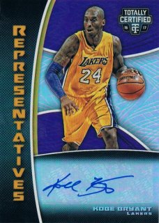2016-17 PANINI TOTALLY CERTIFIED Representatives Auto Mirror Kobe Bryant 【25枚限定】 / MINT新宿店 ゆーじ様