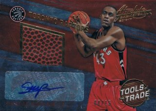 2016-17 PANINI ABSOLUTE Tools of the Trade Basketballs Prime Auto P.Siakam 【15枚限定】 / MINT新宿店 トニースネル様