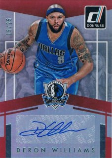 2016-17 PANINI DONRUSS Elite Signatures  Deron Williams 【25枚限定】 / MINT新宿店 ロッドマン様