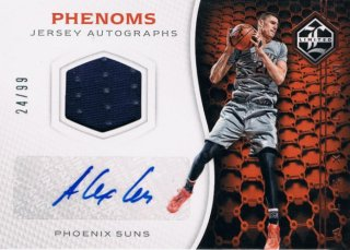 2016-17 PANINI LIMITED Phenoms Jersey Auto Alex Len 【99枚限定】 / MINT新宿店 ソニック様