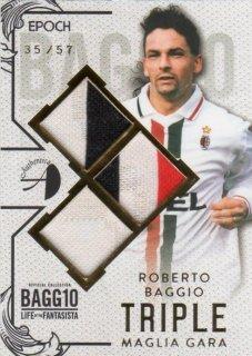 EPOCH 2016 Roberto Baggio Life of the Fantasista Triple Maglia Gara【57枚限定】 ミント千葉店 FANTA様