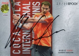 2016 EPOCH IPTL Authentic Signatures Marat Safin【30枚限定】/ MINT池袋店 守護神ウォーレン様