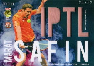 2016 EPOCH IPTL Match Worn Shirts Marat Safin 【99枚限定】/ MINT池袋店 守護神ウォーレン様
