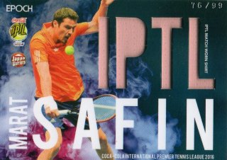 2016 EPOCH IPTL Match Worn Shirts Marat Safin【99枚限定】/ MINT池袋店 守護神ウォーレン様