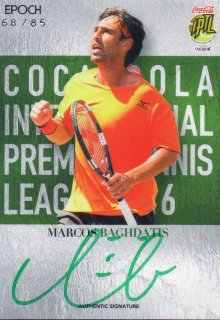 2016 EPOCH IPTL Authentic Signatures Marcos Baghdatis【85枚限定】/ MINT池袋店 Bakassi様