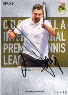 2016 EPOCH IPTL Authentic Signatures Goran Ivanisevic【45枚限定】/ MINT池袋店 Bakassi様
