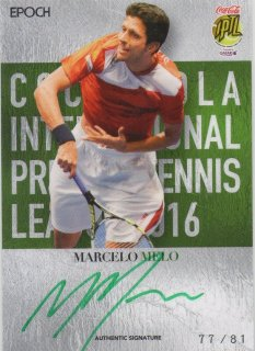2016 EPOCH IPTL Authentic Signatures Marcelo Melo【81枚限定】/ MINT池袋店 Bakassi様