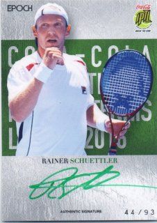 2016 EPOCH IPTL Authentic Signatures Rainer Schuettler【93枚限定】/ MINT池袋店 Bakassi様