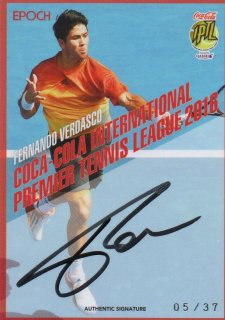 2016 EPOCH IPTL Authentic Signatures Fernando Verdasco【37枚限定】/ MINT池袋店 Bakassi様