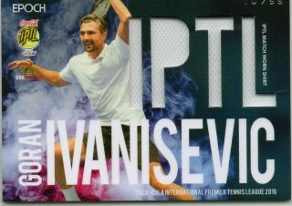 2016 EPOCH IPTL Match Worn Shirts Goran Ivanisevic【99枚限定】/ MINT池袋店 Bakassi様