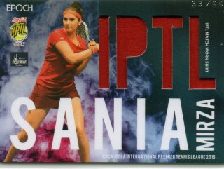 2016 EPOCH IPTLMatch Worn Shirts Sania Mirza 【99枚限定】/ MINT池袋店 Bakassi様