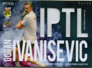 2016 EPOCH IPTL Match Worn Shirts Goran Ivanisevic【49枚限定】/ MINT池袋店 Bakassi様