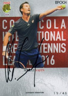 2016 EPOCH IPTL Authentic Signatures Marat Safin【46枚限定】/ MINT池袋店 NY様