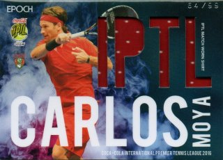 2016 EPOCH IPTL Match Worn Shirts Carlos Moya【99枚限定】/ MINT池袋店 NY様
