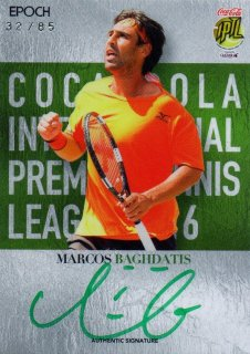 2016 EPOCH IPTL Authentic Signatures Marcos Baghdatis【85枚限定】/ MINT池袋店 NY様