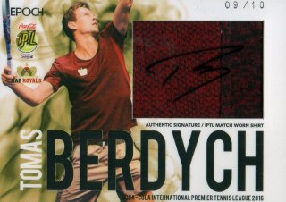2016 EPOCH IPTL Signed Match Worn Shirts Tomas Berdych【10枚限定】 / MINT池袋店 NY様