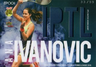2016 EPOCH IPTL Match Worn Shirts Ana Ivanovic【99枚限定】/ MINT池袋店 NY様