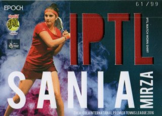 2016 EPOCH IPTLMatch Worn Shirts Sania Mirza 【99枚限定】/ MINT池袋店 NY様