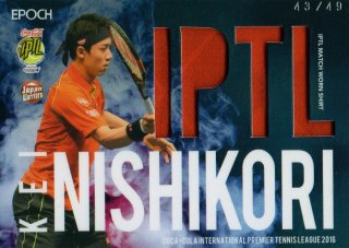 2016 EPOCH IPTL Match Worn Shirts Kei Nishikori【49枚限定】/ MINT池袋店 ポイズン様
