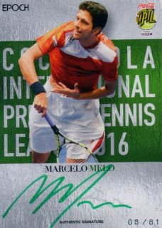2016 EPOCH IPTL Authentic Signatures Marcelo Melo 【81枚限定】/ MINT池袋店 K山様