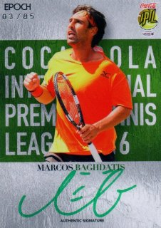 2016 EPOCH IPTL Authentic Signatures Marcos Baghdatis【85枚限定】/ MINT池袋店 K山様