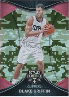 16/17 PANINI TOTALLY CERTIFIED BASE SET CAMO Blake Griffin【25枚限定】/MATCHUP 2 様