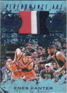 16/17 PANINI COURT KINGS PERFORMANCE ART JERSEYS SAPPHIRE Enes Kanter【25枚限定】/MATCHUP 壁 様
