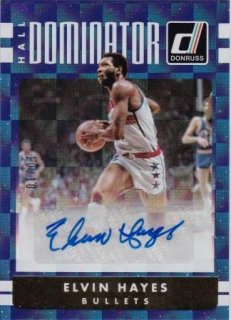 16/17 PANINI DONRUSS HALL DOMINATOR SIGNATURES GOLD Elvin Hayes【10枚限定】/MATCHUP セレッソール 様