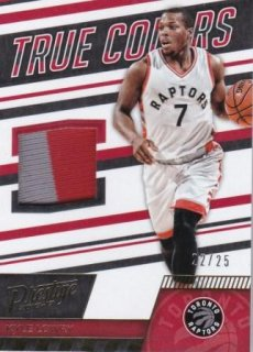 16/17 PANINI PRESTIGE TRUE COLORS MATERIALS PRIME Kyle Lowry【25枚限定】/MATCHUP TAKA32 様