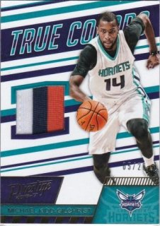 16/17 PANINI PRESTIGE TRUE COLORS MATERIALS PRIME Michael Kidd-Gilchrist【25枚限定】/MATCHUP V 様