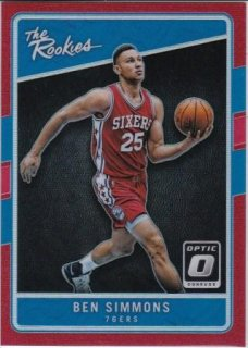 16/17 PANINI DONRUSS OPTIC THE ROOKIES RED Ben Simmons【99枚限定】/MATCHUP Mr.2 様