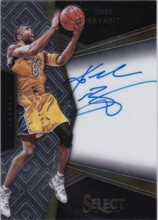 16/17 PANINI SELECT SIGNATURES Kobe Bryant【99枚限定】/MATCHUP FF 様
