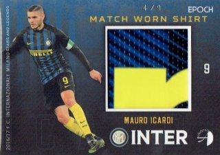 2016/17 EPOCH/AUTHENTICA INTER Match Worn Shirts Mauro Icardi【9枚限定】/ MINT立川店 幕張大好き様