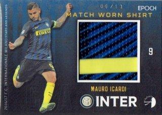2016/17 EPOCH/AUTHENTICA INTER Match Worn Shirts Mauro Icardi【13枚限定】/ MINT立川店 幕張大好き様