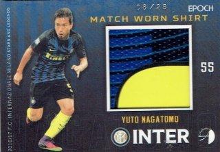 2016/17 EPOCH/AUTHENTICA INTER Match Worn Shirts Yuto Nagatomo【28枚限定】/ MINT立川店 幕張大好き様