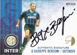 2016/17 EPOCH/AUTHENTICA INTER Authentic Signatures Giuseppe Bergomi【30枚限定】/ MINT立川店 幕張大好き様