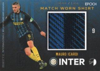 2016/17 EPOCH/AUTHENTICA INTER Match Worn Shirts Mauro Icardi【100枚限定】/ 福岡店 ウタケ様