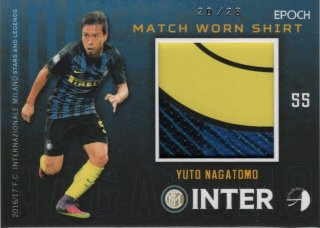 EPOCH/AUTHENTICA 2016/17 INTER Match Worn Shirt Yuto Nagatomo 【28枚限定】 神田店 トルド命様