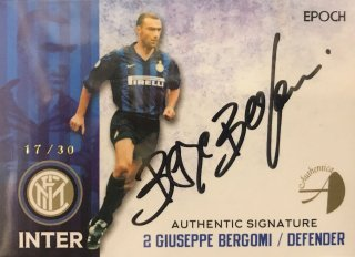 2016/17 EPOCH/AUTHENTICA INTER Authentic Signatures Giuseppe Bergomi【30枚限定】/ MINT新宿店 半田乃様