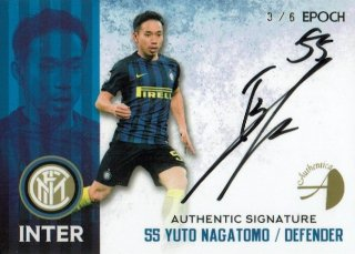 2016/17 EPOCH/AUTHENTICA INTER Authentic Signatures Yuto Nagatomo【6枚限定】/ MINT新宿店 とみち様
