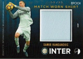 2016/17 EPOCH/AUTHENTICA INTER Match Worn Shirts Samir Handanovic【99枚限定】/ MINT新宿店 とみち様