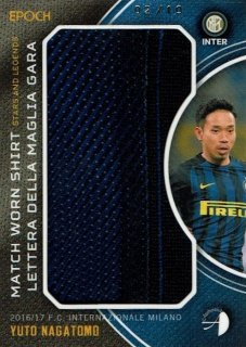 2016/17 EPOCH/AUTHENTICA INTER Match Worn Shirts Yuto Nagatomo【10枚限定】/ MINT新宿店 とみち様