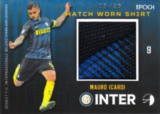 2016/17 EPOCH/AUTHENTICA INTER Match Worn Shirt MAURO ICARDI【28枚限定】ミント札幌店 ゴールドシップ様