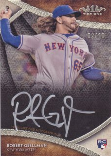 2017 Topps Museum Collection Robert Gsellman Silver Auto 10枚限定 ポニーランド 三様