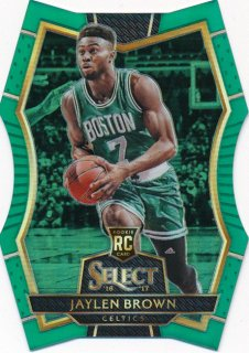 2016-17 PANINI SELECT RC Green Prizm Jaylen Brown 【5枚限定】Rookie Star RS18様
