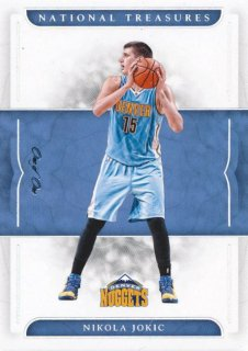 2016-17 PANINI NATIONAL TREASURES Platinum Nikola Jokic 【1枚限定】Rookie Star RS61様