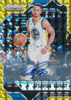 2016-17 PANINI MOSIAC Prizm Gold Auto Stephen Curry【10枚限定】 Rookie Star RS70様