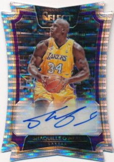 2016-17 PANINI SELECT Prizm Auto Shaquille O'Neal 【35枚限定】Rookie Star RS70様